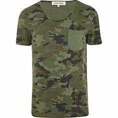 RI Camo T-shirt