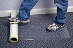 Zone Coated Carpet Protection Tape Is An Environmentally Responsible Temporary Way To Protect Carpets