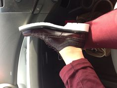 Contrast sole Loake creepers