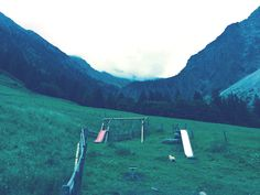 Im Nebel liegt der Gipfel des Rubihorn.