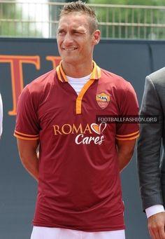 AS Roma 2013/14 Home Kit
