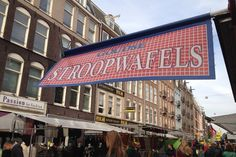 Stroopwafels Stand at the Albert Cuypmarkt
