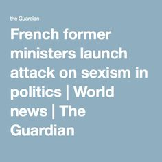 French former minist