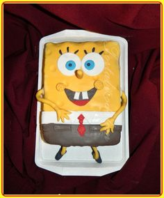 Spongyabob torta Lunch Box, Bento Box