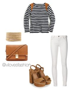 """Sin título #688"" by viviana-auricchio-g on Polyvore featuring moda, J.Crew, Topshop, Forever 21 y Chan Luu"