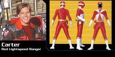 Carter Grayson (Red Lightspeed Rescue Ranger) - Power Rangers Lightspeed Rescue   Power Rangers Central