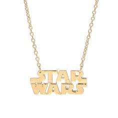 GOLD STAR WARS PENDANT | Rock Rebel Shirts, Handbags, Jewelry