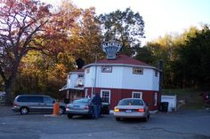 Cheshire, CT landmark (pretty sure this is actually in Waterbury), but this is where to get a great hot dog!