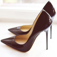 Fancy - Patent Leather Heels by Jimmy Choo #jimmychooheelspump