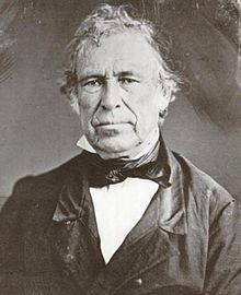 July 9th 1850, Zachary Taylor, the 12th president of the United States, dies suddenly from an attack of cholera morbus. He was succeeded by Millard Fillmore.
