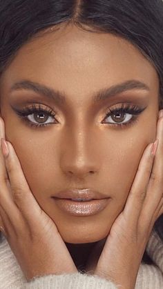 Image in Makeup collection by Ruth on We Heart It Soft Glam Makeup Black Women Collection Heart image Makeup Ruth Glam Makeup, Flawless Makeup, Pretty Makeup, Love Makeup, Simple Makeup, Makeup Inspo, Makeup Inspiration, Makeup Tips, Gorgeous Makeup