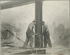 Random Enthusiasm 22 Insane Pics of Workers Who Build The Empire State Building