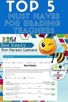 ESGI For Back to School! Read about these Top 5 Must Haves For Reading Teachers to see what teachers need for back to school no matter whether they are teaching in the elementary classroom or doing distance learning! #backtoschool #elementary #guidedreading #teacher #conversationsinliteracy #distancelearning #digitallearning #kindergarten #firstgrade #secondgrade #thirdgrade kindergarten, 1st grade, 2nd grade, 3rd grade #ESGI