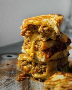 Kimchi Meatloaf Melt