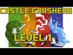 Castle Crashers - Blue Knight (EP1) Barbarians - YouTube