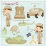 In the Army Clipart