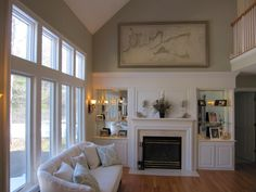 a nice exhibit of an old map in a modern home with light interior Modern Coastal, Coastal Style, Chatham Cape Cod, Cape Cod Map, Interior And Exterior, Interior Design, Framed Maps, Selling Antiques, Antique Maps