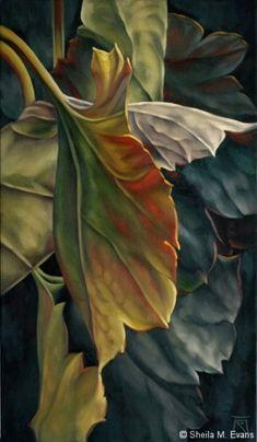 Artodyssey: Sheila M Evans (Coloured Pencils)