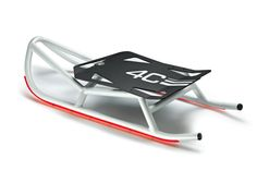 Red Dot Honourable Mention 2014  The aluminum sledge, exclusively designed for 4C, using the same materials of the car and getting inspiration from its aggressive shape. The work, realized by Massimil...