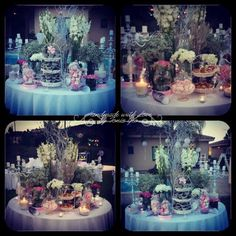 #christening #candytable #flowers #candybar