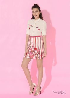 Lookbook - Plains and Prints Happy Skin, Spring Summer 2016, Skater Skirt, Casual Dresses, Skirts, Fashion, Casual Gowns, Moda, Skirt