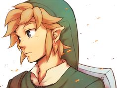 Another Link portrait in a good art style