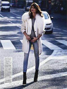 Elle Spain November 2012Ph: Xavi Gordo, Stylist: Inmaculada Jimenez, Model: Davinia Pelegri