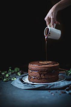 Chocolate Buttermilk Espresso Cake http://adventuresincooking.com/2017/10/chocolate-buttermilk-espresso-cake.html