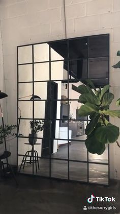 Home Design Diy, Home Room Design, Dream Home Design, House Design, Creative Design, Design Ideas, Industrial Mirrors, Industrial House, Ikea Industrial