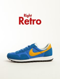 Nike Air Pegasus 83: Blue/Yellow