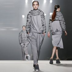 Shades of Gray: Do we dare blame the prevalence of gray on the ever-popular book? Or are we just ready for the ultimate in minimalist colors? Alexander Wang made a strong textural statement at his NYC show, while Armani gave his signature beige a break for shades of slate and stone. The wonderful part of such a neutral color being worn head to toe is that it puts all the focus on the cut of the clothes — the perfect accent to this season's sculpted shapes. At left: Alexander Wang Fall 2013