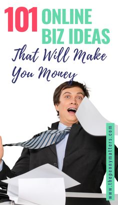 Want to work from home? Here are 101 ideas on how you can make money online - no matter where you are. These tips include things like online tutoring, Virtual Assistance, freelancing and blogging. The best part is that these jobs don't require any special skills or training! Get started today! #workfromhomejobs #bloggingtipsforbeginners Business Ideas For Beginners, Best Online Business Ideas, Start Online Business, Home Based Business, Business Design, Make Money Online, How To Make Money, Seo Agency, Online Tutoring
