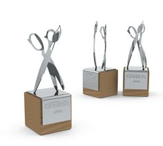 Corporate Trophies by Dipesh Chhita, via Behance