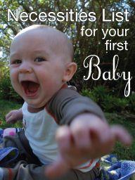 First Baby Necessities List