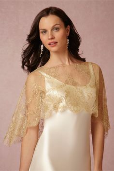 Carolina Capelet in Shoes & Accessories Cover Ups at BHLDN