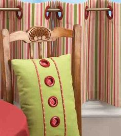 Grommet Embellished Decor: Home Decor Fabric Projects: Shop | Joann.com