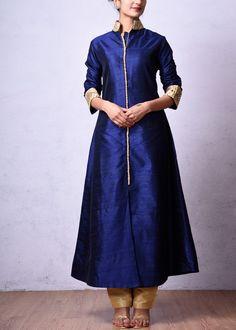 Blue-Raw-Silk-Salwar-Suit-VS25011603