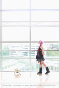 Guilty Crown Inori Yuzuriha Cosplay
