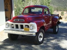Super rare 1960 Studebaker Navy 4×4 Short Bed. One of 65 built!