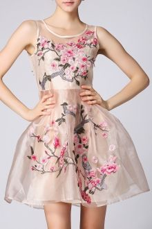Join Dezzal, Get $100-Worth-Coupon GiftFloral Embroidered Sleeveless DressFor Boutique Fashion Lovers Only: Designer Collection·New Arrival Daily· Chic for Every Occasion