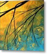 Abstract Landscape Art Passing Beauty 2 Of 5 Metal Print