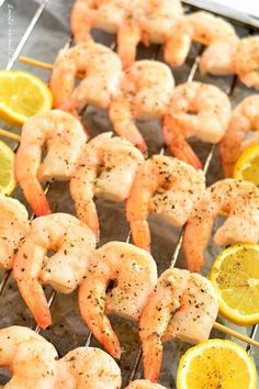 Frigărui de creveţi stropiţi cu sos de unt şi usturoi Paella, Unt, Barbecue, Shrimp, Seafood, Health Fitness, Gluten Free, Fish, Recipes
