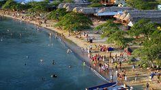 La Playa Grande en Columbia es una attracion turistica.