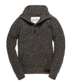 Superdry Trident Henley - Winter time with jeans...