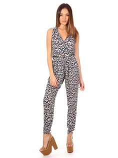 SYTX Womens Classic Denim Button Down Sleeveless Long Jumpsuits Romper