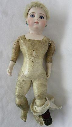 "RARE Original 14"" Early Bru Brevete Bisque Swivel Head Doll Marked 2 0 1879 1880   eBay"