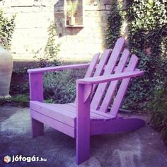 Kerti bútor szék raklapból