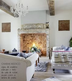 The charm of the rustic decor.