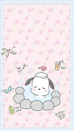 Sanrio Wallpaper, Kawaii Wallpaper, Cartoon Wallpaper, Mobile Wallpaper, Hello Kitty Characters, Sanrio Characters, Cute Characters, Cellphone Wallpaper, Iphone Wallpaper