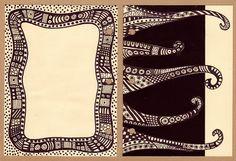 art journal page breathe   Zentangles